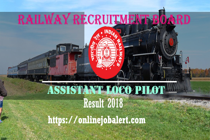 RRB Assistant Loco Pilot Result 2018