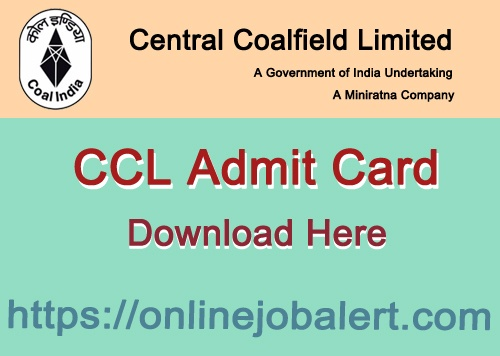 CCL Trade Apprentice Admit Card
